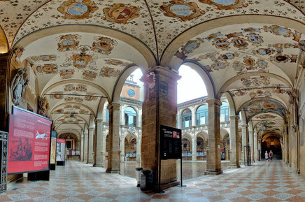 Bologna top things to do  - Bologna Porticoes -Copyright Scott D. Haddow