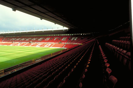 Old Trafford, Home of Manchester United Football Club, Manchester, Greater Manchester, England