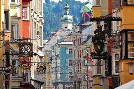 Innsbruck top things to do - Shopping - Copyright Ian Aberle