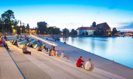 Wroclaw top things to do - Library - Copyright  David Flores
