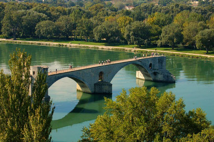 Avignon top things to do - Parks - Copyright  Anne Jacko