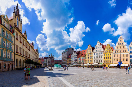Wroclaw top things to do - Marquet Square - Copyright Proggie