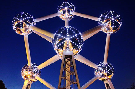 Top things to do in Brussels Atomium Copyright Calvin YC