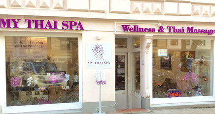 MY THAI SPA Wellness & Thai Massage Hamburg Eimsbüttel Rotherbaum Außenansicht