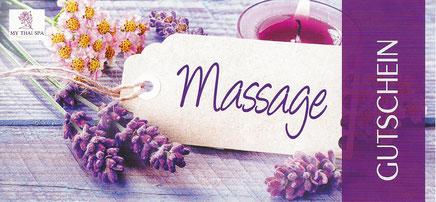 Mit dem MY THAI SPA Massagegutschein Hamburg verschenken Sie schöne, entspannende Momente