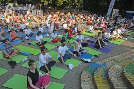 Yoga in Kiev
