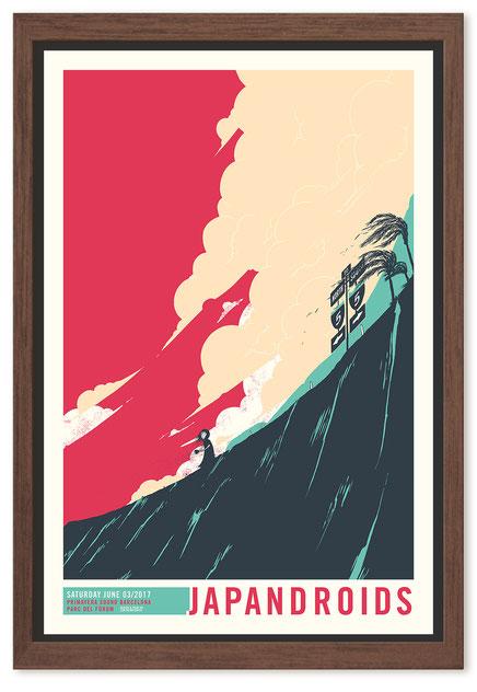Japandroids - Poster