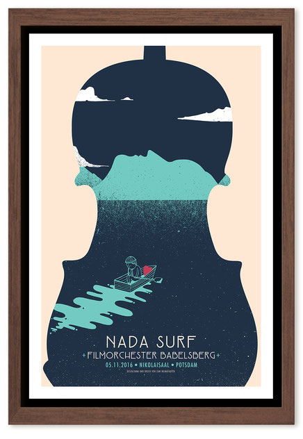 Nada Surf + Orchestra - poster