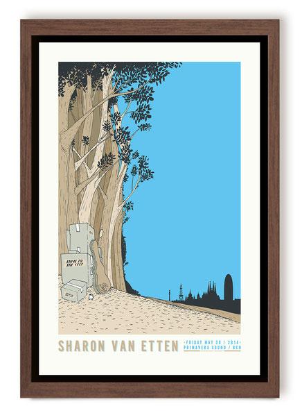 Sharon van Etten poster
