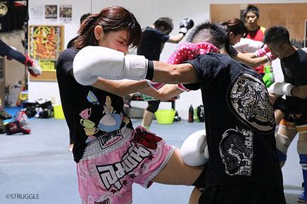 ▲東京都墨田区のキックボクシングジム ストラッグル