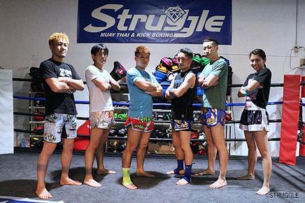 ストラッグル代表 鈴木秀明と所属プロ選手たち