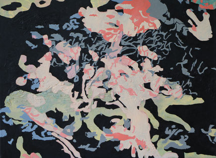 Mixed Media auf Leinwand (2015)                 100 cm x 70 cm