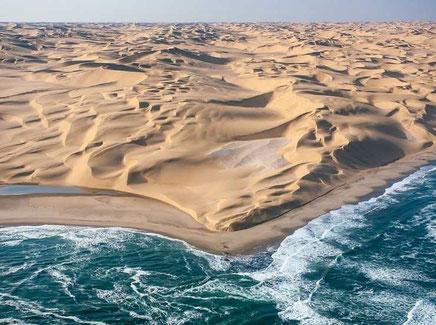 Namibia coastal desert.