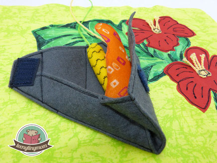Quiet book Beetle sewing touch feel butterfly