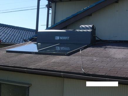 太陽熱給湯器リフォーム、アフター