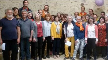 The Famous Chorale Band de Parthenay fêtes ses 20 ans  et invite Les Folyglottes de Poitiers
