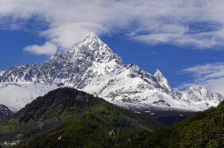 Hoch hinaus in die Berge