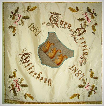Vereinsfahne Turnverein 1861 Otterberg e.V.