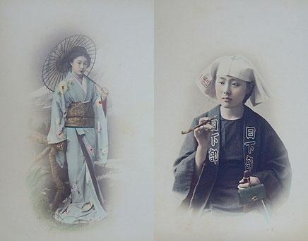 「横浜写真」と呼ばれた彩色写真