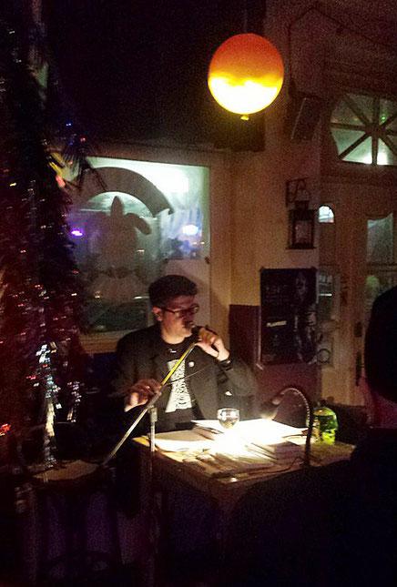 Autorenlesung Tortuga Bar, Hamburg, 27.02.2016