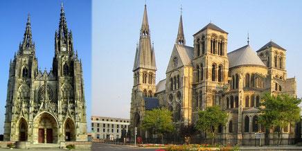 La collégiale Notre-Dame-en-Vaux de Châlons-en-Champagne est une église gothique construite du XIIᵉ au XVᵉ siècle. Au XIXᵉ siècle, on lui a ajouté un carillon de cinquante-six cloches.
