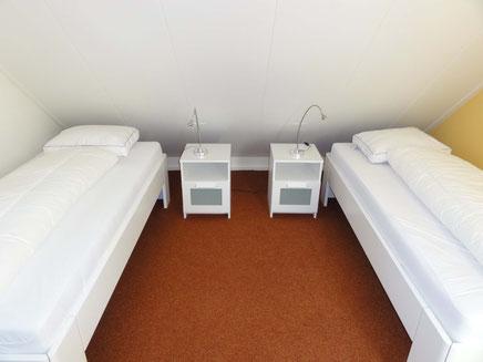 3.Schlafzimmer OG  mit 2 Betten à 90x200m