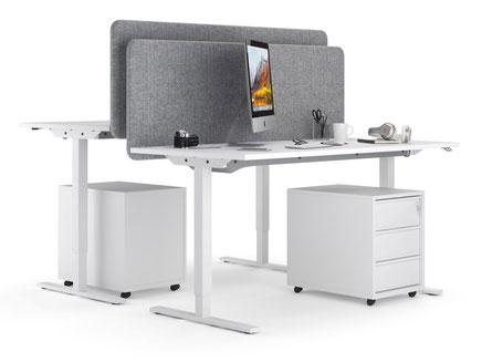 ONE - Der Schreibtisch mit Höhenverstellung für das Büro zu Hause