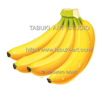 バナナ水滴 RD1255