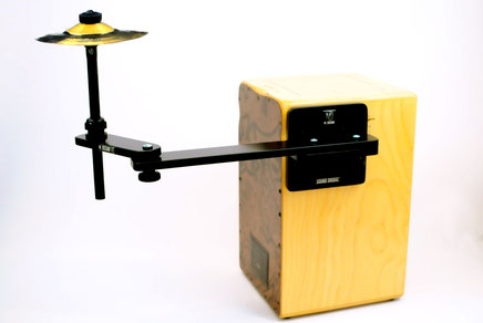 cajon sound bridge shaker jingle cymbal splash single tools  zusatzinstrument add on spielen