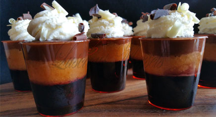 sweet canapé option and desserts for parties and weddings