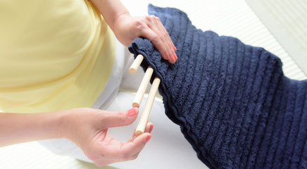 特許取得,巻いて使う枕,高さ硬さ形状が自由に変えられる,洗える枕,コリ吉ロール,ストレッチ枕,ストレートネック枕,腰まくら