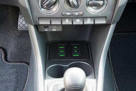 bedienpanel für MQB-basis austausch navigation im vw skoda seat