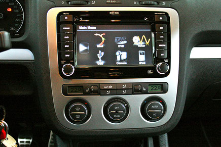 Zenec 2026 mit Navigation DAB+ carplay für VW
