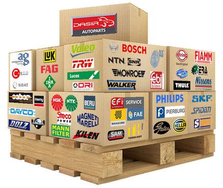 DASIR AUROPARTS, 45 marques renommées