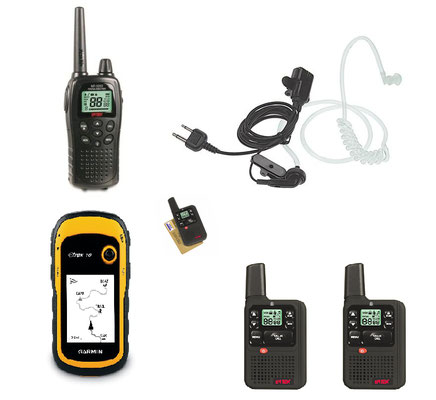 Apparati radio - Gps - Auricolari  security -