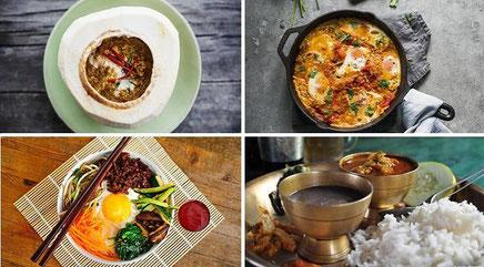 Cuisine du monde - le petit voyageur