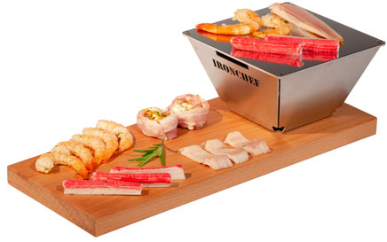 Ironchef Snak Grill - Fingerfood Grill