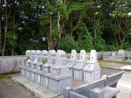 永代供養付きのお墓の写真です。