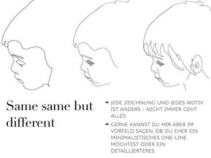One Line Art Anleitung 2