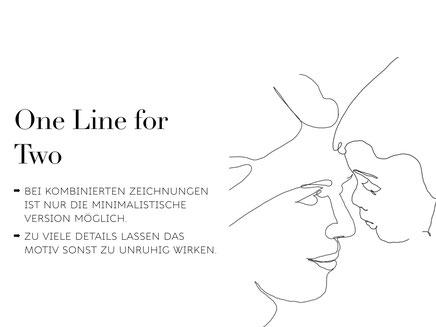 One Line Art Anleitung