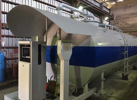 Заправочный модуль объемом 25000 литров