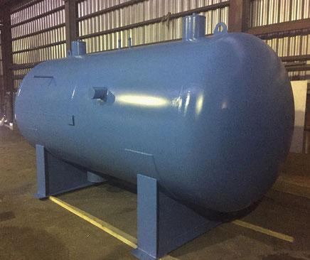 Ресивер циркуляционный объемом 7000 литров