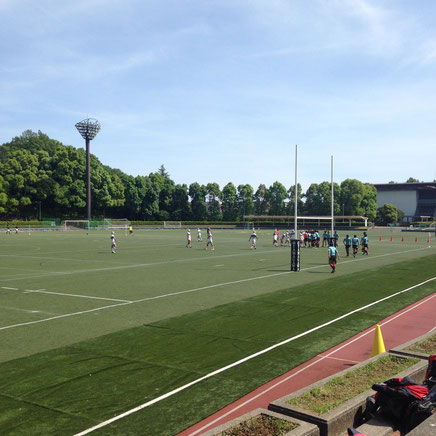 東京都高校ラグビー3回戦!