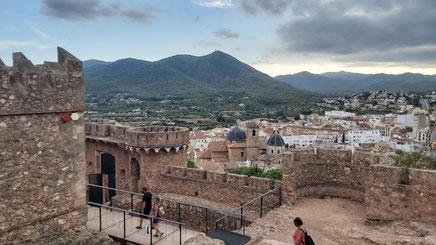 Castillo y Ciudad de Onda en Castellón, Comunidad Valenciana.