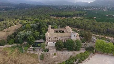 Monasterio de Sant Jeroni de Cotalba, Gandia, Comunidad Valenciana