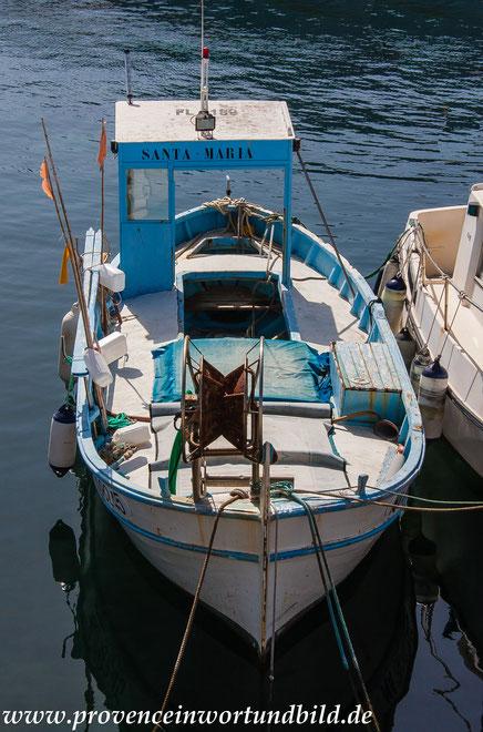 Bild: Fischerboot bei Marseille