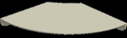 Etagère tablette d'angle pour les coins.