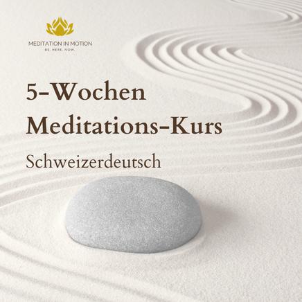 Meditation für Anfänger. Meditation in Motion Für mehr Achtsamkeit, Ruhe und Entspannung. In Zürich Oerlikon. Meditationskurse und Meditations-Ausbildungen.