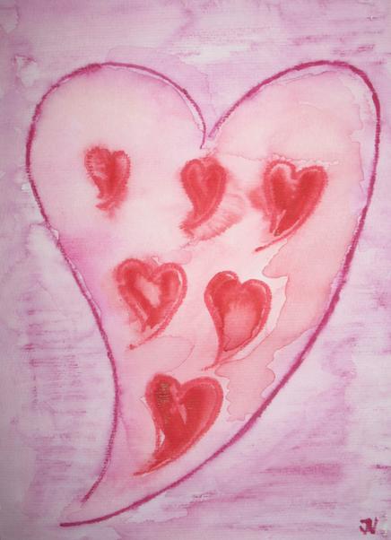 Liebe im Herzen © Ines Nandi