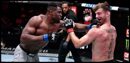 Francis Ngannou, Champion du monde UFC de MMA en 2021